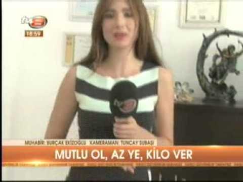 Diyetisyen ve Yaşam Koçu Gizem ŞEBER, dopamin diyetini 16.08.2013 tarihinde TV8 Anahaber bülteninde anlattı.
