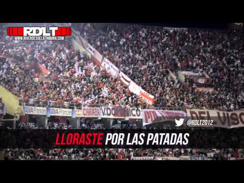 Video - TIRASTE GAS    ABANDONASTE    con letra - Los Borrachos del Tablón - River Plate - Argentina