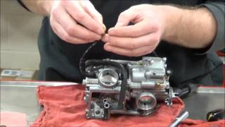 10. How to install a Dynojet  Jet Kit in a Honda VT750DC Spirit Shadow