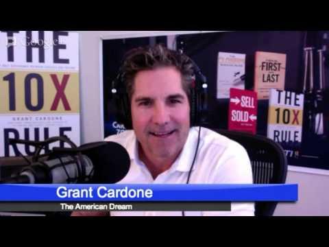 Cardone Zone – Advice for The American Dream