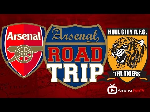 road trip - Road Trip: Arsenal v Hull City BETWAY AFTV Exclusive Offer: http://goo.gl/7SfZzo AFTV APP: IPHONE : http://goo.gl/1TNrv0 AFTV APP: ANDROID: http://goo.gl/uV0jFB AFTV ONLINE SHOP : http://tiny.c.