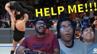 Three Indians and a Giant (Wwe 2k18 Handicap Match)
