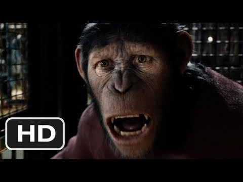 Rise of the Planet of the Apes - The second trailer to the new Planet of the Apes movie starring James Franco, Tom Felton, Andy Serkis as the Ape, Brian Cox, Freida Pinto, John Lithgow, Tyle...
