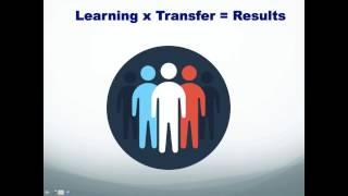 Webinar - Why 80% of learning slips, habits and peer feedback