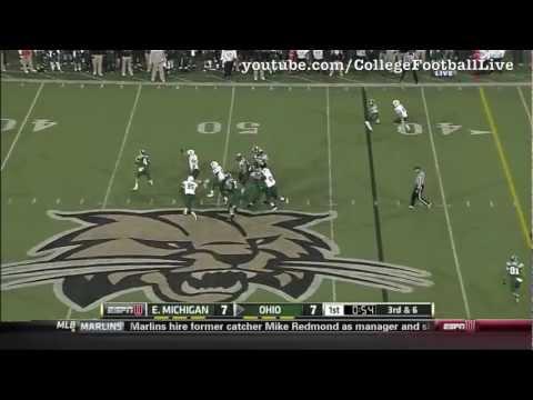 Tyler Tettleton Highlights vs Eastern Michigan video.