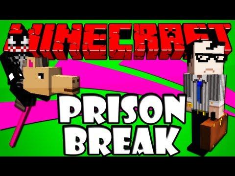 Minecraft Esquisito #1 - Fugindo da Prisão com um Cavalo de Pau XD видео