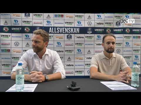 Presskonferens efter ÖSK - AIK