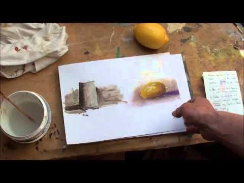 Malen mit Acryl: Licht und Schatten (Teil 2/2)