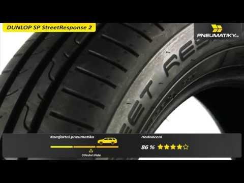 Youtube Dunlop Streetresponse 2 185/65 R15 92 T XL Letní