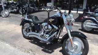 6. 2005 Harley-Davidson Fatboy Anniversary FLSTFIA - Used Motorcycle For Sale
