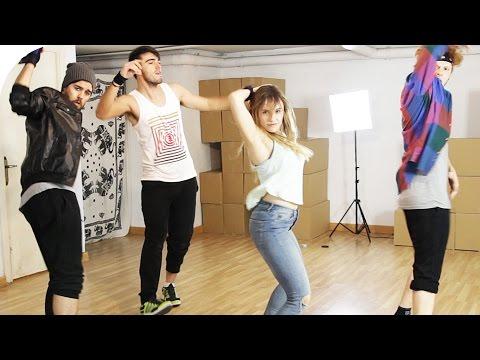 Aprendiendo a bailar Despacito con The Lay Out Show  Roenlared