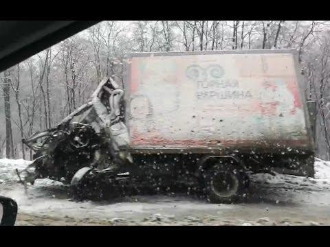 10 Жёстких последствий зимних аварий