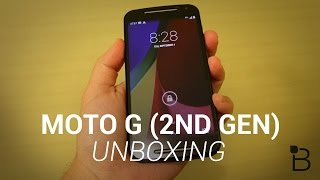 Moto G (2nd Gen) Unboxing And Hands-On