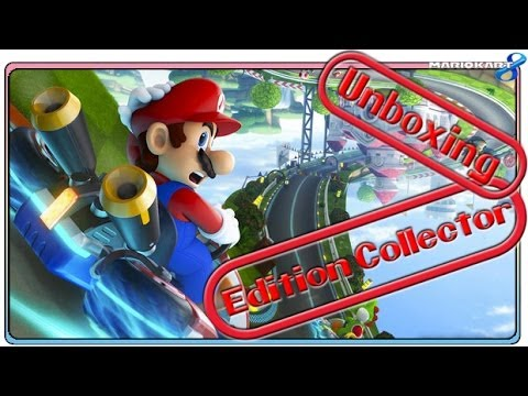 Unboxing Mario Kart 8 Edition limitée + goodies + ? (Eur. version - Wii U)