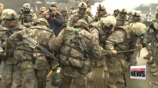 Yeoncheon-gun South Korea  city photos gallery : S. Korea-U.S. forces carry out river crossing drill