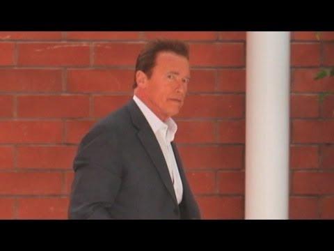 Arnold Schwarzenegger Fathers Housekeeper's Son