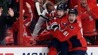 Kuznetsov's first NHL goal is a clutch one