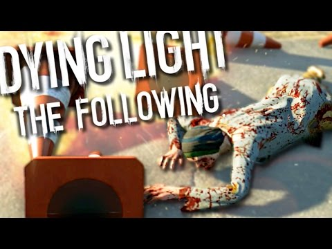CONE-GIRL AND THE ONE SIDED FIGHT!! | Dying Light Funny Moments (Hyper Mode Event) (видео)