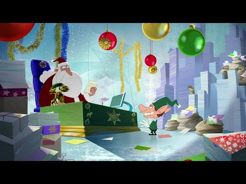 हिंदी Oggy and the Cockroaches 💙🎅 CHRISTMAS IS COMING 🎅💙 Hindi Cartoons for Kids