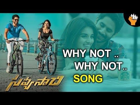 Why Not why not Song Savyasachi Movie| Naga Chaitanya, Nidhi Agarwal | MM keeravani | SocialPost