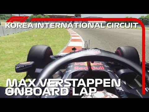 Max Verstappen Onboard Lap | 2020 Korean Grand Prix