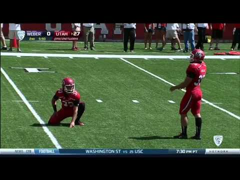 Dres Anderson 57-yard touchdown catch vs Weber St. 2013 video.