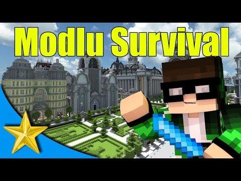 STARBROCRAFT! Minecraft Modlu Survival Bölüm 1 - Evime Taşınıyorum