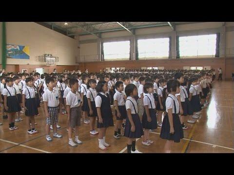 さあ2学期、県内小中学校で始業式・愛媛新聞