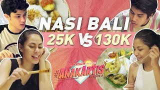 Video Anak Artis Season 3 - Nasi Bali 25 Ribu VS 130 Ribu MP3, 3GP, MP4, WEBM, AVI, FLV Februari 2018