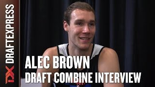 Alec Brown Draft Combine Interview