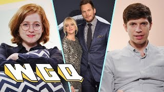 Matthew and Sarah do their best to process their strong emotions about Chris Pratt and Anna Faris' breakup. - SUBSCRIBE to Above ...