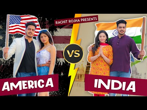USA vs INDIA || Rachit Rojha