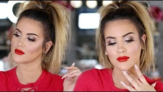Makeup Look | Lady In Red -- Nicole Guerriero by Nicole Guerriero