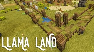 Llama Obstacle Course :: Minecraft Llama Land with The Crew