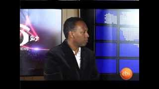 INTERVIEW WITH THE PRESIDENT OF LITTLE ETHIOPIA,DC, ON EBS NEWS