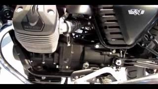 2. 2014 Moto Guzzi V7 Stone Red Colour Walkaround [fadriema]
