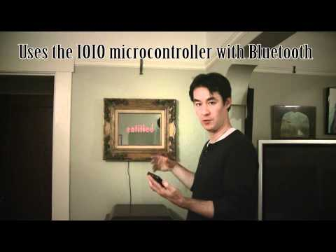 Video of IOIO Verbage to LED Matrix