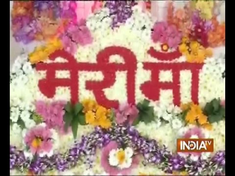 India TV special programme on Navratri's (Maa Gauri)