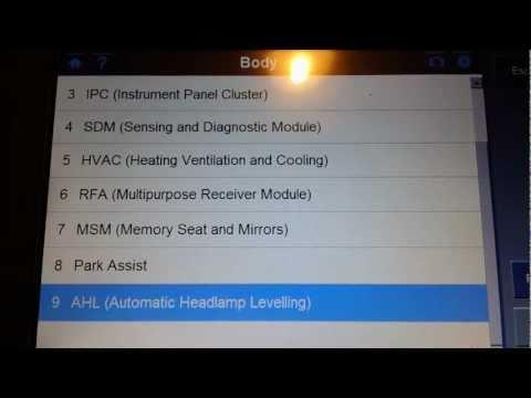 Handheld Car Diagnostic Scanner | Autel MaxiDAS DS708