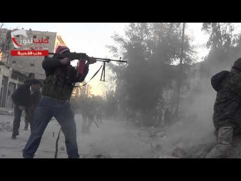 الجبهة الاسلاميه كتيبة بلال بن رباح اشتباكات قويه حلب القديمة