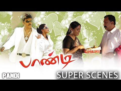 Pandi - Super Scenes | Raghava Lawrence | Sneha | Srikanth Deva | Rasu Madhuravan:  Super Scenes from Pandi. Film        : PandiStarring   : Raghava Lawrence, Sneha, Namitha, Saranya, Nasser Music      : Srikanth DevaDirect      : Rasu MadhuravanBanner    : Nemichand Jhabak ProductionsProducer : Hitesh JhabakLabel       : Mass AudiosOverseas : Khafa ExportsYear        : 2008Pandi Original Soundtrack http://ascendents.net/?v=zOu8dW1gXSMHD Video Songs http://www.youtube.com/playlist?list=PLekbPuMQRpGXxLkqUyg4HHlf0FyAd9oSs Full Movie click here http://ascendents.net/?v=F1brZ8qGbAsFull Comedy click here http://ascendents.net/?v=7hMwwuEgYUQLike us: http://www.facebook.com/khafaexports             http://www.facebook.com/massaudiossFollow us: http://www.twitter.com/khafaexports                http://www.twitter.com/massaudiosPandi (Lawrence) does menial jobs in Dubai and saves every penny he earns and sends it to his family in Usilampatti. A flashback reveals that he was a carefree youth, who is often chided by his father (Nasser). His elder brother (Sreeman) is the blue-eyed boy of his father. However Pandi's mother (Saranya) showers all her love and affection on him. Pandi comes across Sneha, a cop's daughter in the village and after a sequence of events romance blossoms between them. Meanwhile his family receives a shock as just a couple of days before Pandi's sister's wedding, Sriman runs away from the house with the money.A dejected father is consoled by Pandi, who borrows money from a private money-lender and completes the wedding. Meanwhile, Sneha walks out of the house to enter wedlock with Pandi.Determined to pay back the loan and help his family overcomes their financial constraint, Pandi decides to go abroad and work as conservancy staff. He manages to stabilize his family with his earnings. However on his return he is shocked to find his mother dead. Coming to know that it was no natural death, he decides to avenge the killers.