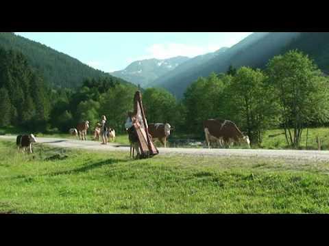 Engel aus Tirol  –  Der ( lustige ) Harfenstreich aus Tirol