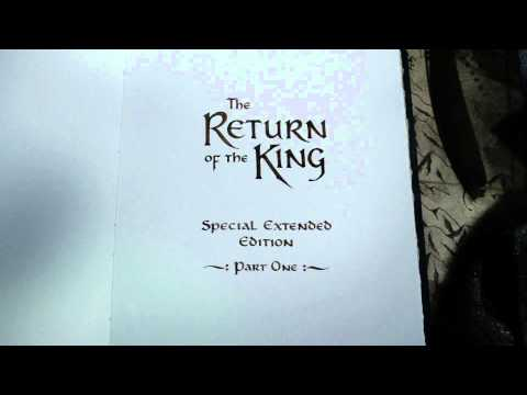 The Lord Of The Rings  The Return Of The King  Blu-ray Menu