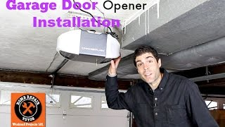 Download Video Garage Door Opener Installation -- by Home Repair Tutor MP3 3GP MP4
