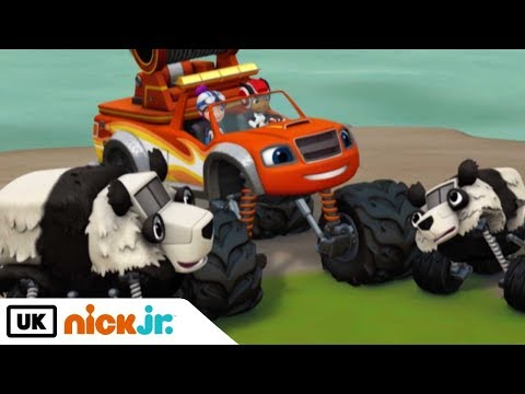 Blaze and the Monster Machines   Tow Truck Team!   Nick Jr. UK