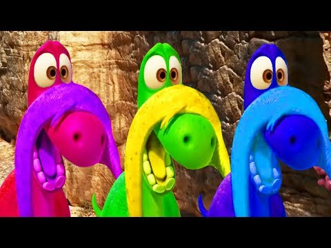 Learn Colors With ARLO THE GOOD DINOSAUR Funny Momment Videos #15 - Learning Video for Kids