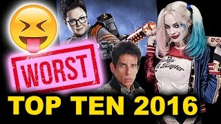 Top Ten Worst Movies of 2016 by Beyond The Trailer