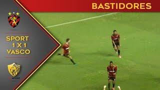 Bastidores de Sport 1x1 Vasco