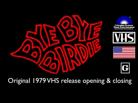 Opening And Closing To Bye Bye Birdie 1979 VHS [True HQ; 4K; 60fps]