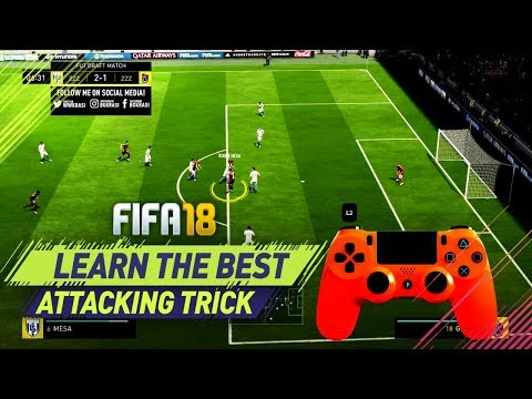 ONE TRICK THAT WILL TAKE YOUR FIFA SKILLS TO THE NEXT LEVEL! FIFA 18 PROTECT THE BALL TUTORIAL